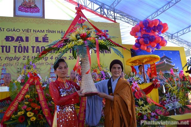 Đại lễ động thổ trùng tu, tôn tạo chùa Phong Hanh