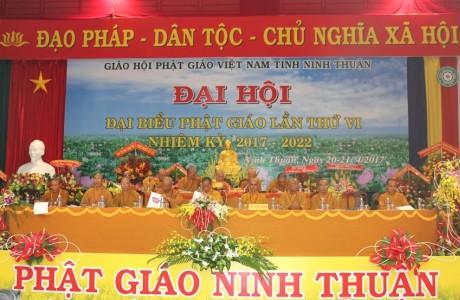 Đại hội Phật giáo tỉnh Ninh Thuận thành công viên mãn