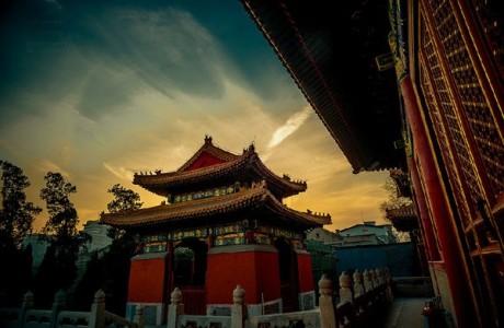 Ngôi danh lam cổ tự Đại Chung ở Bắc Kinh, Trung Quốc