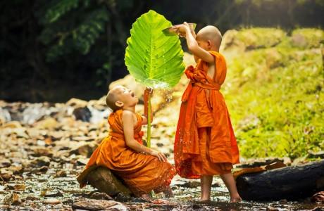 Hành thiện vui nhất là không cầu người biết, thi ân kỵ nhất là đợi được đáp đền