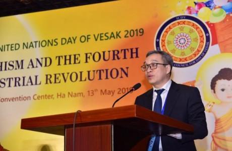 Phật giáo khơi dậy tinh thần dân tộc vượt qua thách thức của cuộc cách mạng công nghiệp 4.0