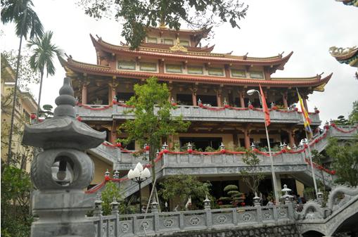 giới thiệu chùa phong hanh